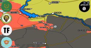 'Hổ Syria' đập tan IS, giải phóng hàng chục giếng dầu