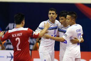 Thái Sơn Nam thắng 9-2 tại giải futsal các CLB châu Á