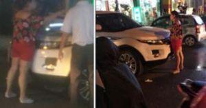 Hà Nội: Bắt gặp chồng và bồ trên phố, người vợ ôm con gào khóc mưa