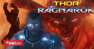 Thor được 'cường hóa', phát ra sấm sét, Hulk 'cân' cả ác ma Surtur trong trailer mới