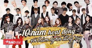 'Tường thành' 10 năm của Kpop: Đến cuối cùng họ đều là những người chiến thắng