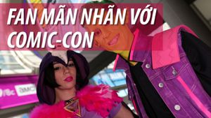 Fan lại sống trong cơn mơ với Comic-Con