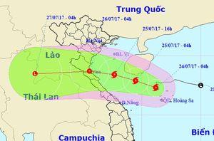 Bão số 4, hướng chậm vào Thanh Hóa - Quảng Bình