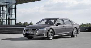 Audi A8 tự tin dẫn đầu cuộc đua công nghệ xe tự lái
