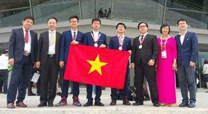 Bộ trưởng Bộ GD-ĐT gửi thư khen các đoàn thi Olympic quốc tế