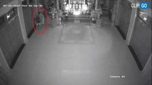 TP. HCM: Hai tên trộm táo tợn đột nhập 'khoắng' sạch tiền công đức ở chùa Liên Trì