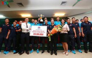 Vô địch Đông Nam Á, U15 Việt Nam nhận 'thưởng nóng' 450 triệu đồng