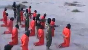 Kinh hoàng cảnh 20 lính IS bị xử bắn hàng loạt ở Libya