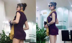 Phi Thanh Vân khoe vòng 3 khủng như Kim Kardashian