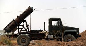 Tên lửa, pháo binh quân đội Syria san phẳng trung tâm chỉ huy IS
