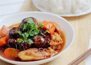 Cách làm gà nấu nấm đông cô thơm ngon, bổ dưỡng cho cả gia đình