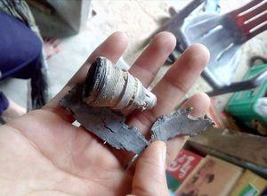 9 hộ dân bị thiệt hại sau vụ nổ trên bầu trời Ninh Thuận