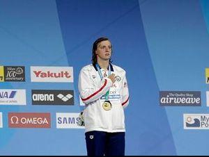 Ledecky trở thành nữ VĐV bơi thành công nhất lịch sử giải thế giới
