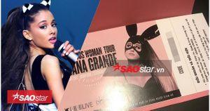 Cận cảnh chiếc vé 'quý như vàng' đưa fan Việt gặp Ariana Grande vào ngày 23/8