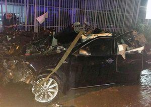 Xe tải tông xe công vụ, 4 chiến sĩ thương vong: Công an Bình Thuận thông tin mới nhất