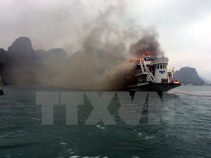 Ngừng hoạt động 14 tàu du lịch lưu trú vỏ gỗ trên Vịnh Hạ Long