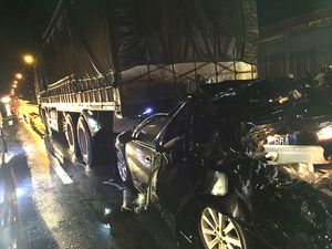 Hành trình chiếc xe gây tai nạn làm 2 cán bộ công an tử vong