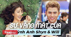 Cùng nhau vắng mặt họp báo phim, Quỳnh Anh Shyn và Will giải thích thế này