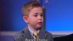 Cậu bé 4 tuổi tiết lộ bí mật các tổng thống Mỹ khiến triệu người thán phục
