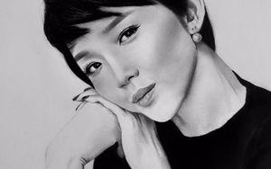 10X Tiền Giang đam mê vẽ chân dung thần tượng