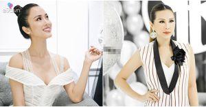 Hoa hậu Thu Hoài, Vũ Ngọc Anh đẹp ngọt ngào, nổi bật trong sự kiện