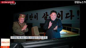 Truyền hình Nhật bất ngờ 'chộp' được đầu đạn tên lửa Triều Tiên