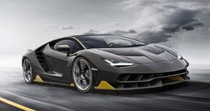 5 chiếc Lamborghini đẹp nhất mọi thời đại