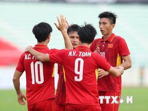 Trực tiếp U22 Việt Nam - U22 Campuchia: Chờ 'cơn mưa bàn thắng'