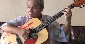 Bản đàn ghi ta của người nghệ sĩ mù ai nghe cũng phải xuýt xoa