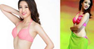 'Bỏng mắt' vì Đỗ Mỹ Linh mặc bikini thi Hoa hậu Thế giới 2017