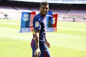 Khán đài Camp Nou vắng tanh ngày ra mắt Paulinho