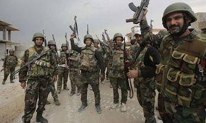 Quân đội Syria hủy diệt đoàn xe quân sự IS ở Homs