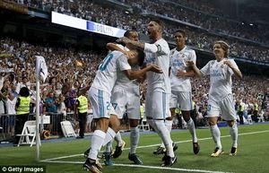 Real thắng dễ Barca, đoạt danh hiệu Siêu cúp Tây Ban Nha