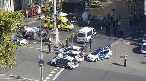 Ô tô tải đâm hàng chục người ở Tây Ban Nha