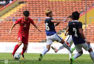 U22 Việt Nam - U22 Campuchia: 1 - 0 (hết hiệp 1)