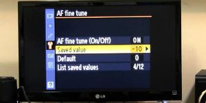Sử dụng Auto AF Fine Tune đúng cách trên các DSLR của Nikon