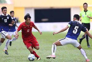 U22 Việt Nam 4 - 1 U22 Campuchia: Cú đúp của Công Phượng