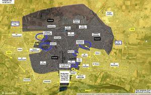 IS điên cuồng đánh bom tự sát, SDF mất 32 binh sĩ tại Raqqa (video)