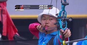 SEA Game 29: Màn tranh tài kịch tính giữa cung thủ Việt Nam và Malaysia