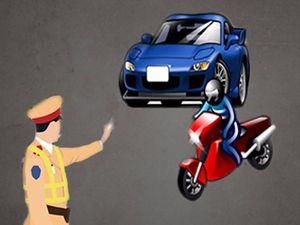 Gỡ rối việc phạt lái xe không có giấy tờ gốc như thế nào?