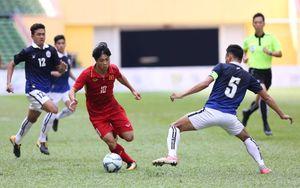 U22 VN 0-0 Campuchia (H1): Công Phượng solo, dứt điểm trúng cột dọc