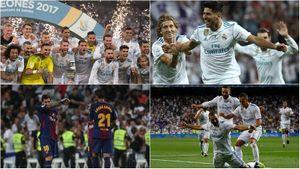 Toàn cảnh Real thắng thuyết phục Barca, vô địch Siêu cúp Tây Ban Nha