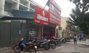 Công an HN điều tra nghi vấn nổ súng ở cửa hàng sửa xe máy