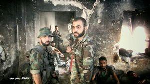 Vệ binh Syria tấn chiếm chiến tuyến phiến quân ven Damascus