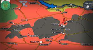Quân đội Syria dồn dập tiến đánh IS tại miền Trung Syria (video)