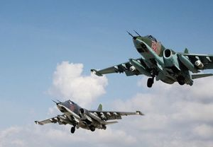 Không quân Nga yểm trợ quân Syria khép chặt vòng vây tiêu diệt từng nhóm IS