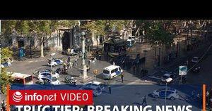 Đâm xe khủng bố tại Tây Ban Nha, 13 người chết