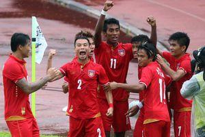 U22 Myanmar vào bán kết SEA Games trước 1 vòng đấu