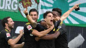 Không Dembele, Dortmund vẫn dễ dàng hạ đẹp Wolfsburg