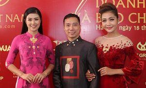 NTK Đỗ Trịnh Hoài Nam mang áo dài dát vàng ra thế giới